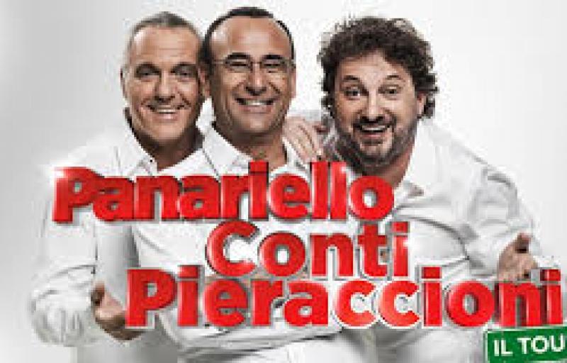 PANARIELLO - CONTI - PIERACCIONI: il Tour