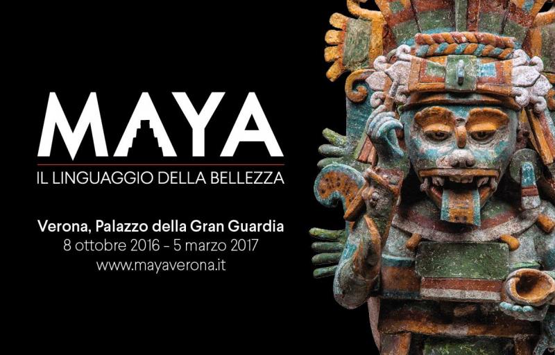 """Verona Mostra """"Maya il linguaggio della bellezza"""""""