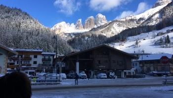 Week-end sulla neve. Campitello di Fassa