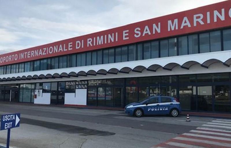 Aeroporto di Rimini: operativo voli.