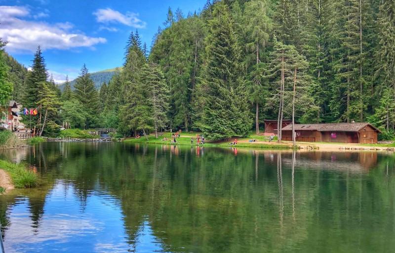 Lago Smeraldo, Canyon Rio Sass, Castel Valer