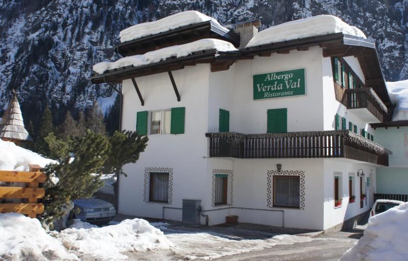 Meraviglioso inverno sulle Dolomiti