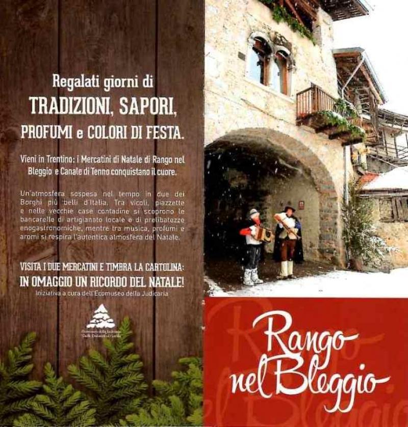 RANGO - TENNO- ARCO: I MERCATINI NATALIZI