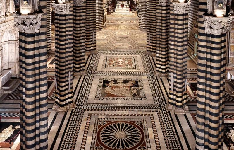SIENA: il pavimento più bello del mondo