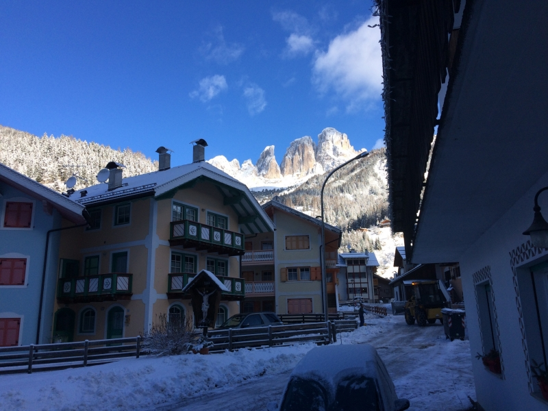 Week-end sulla neve. Campitello di Fassa